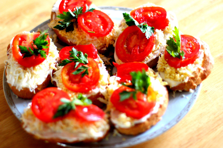 Вкусные тосты и бутерброды