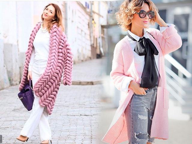 Современные fashion -гуру пропагандируют важное правило – модные кардиганы осень-зима 2016-2017 должны сочетаться по стилю и цвету с. Вязаные кардиганы. Фото модных кардиганов показывают, что ахроматические цвета не сдают позиций, такой кардиган прекрасно смотрится с ярким платьем,