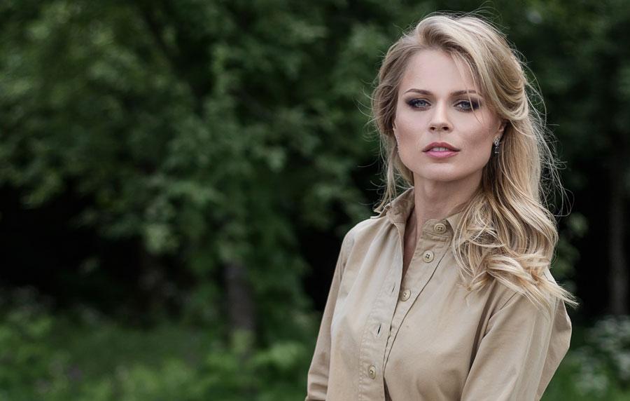 Ольга Фреймут носит одежду дочери