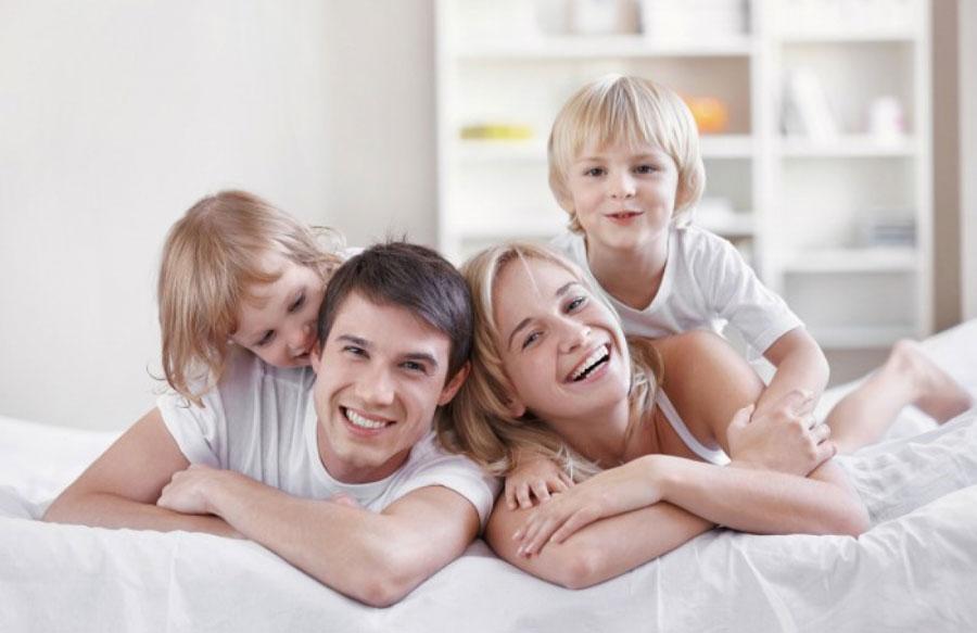 Семейная жизнь с детьми