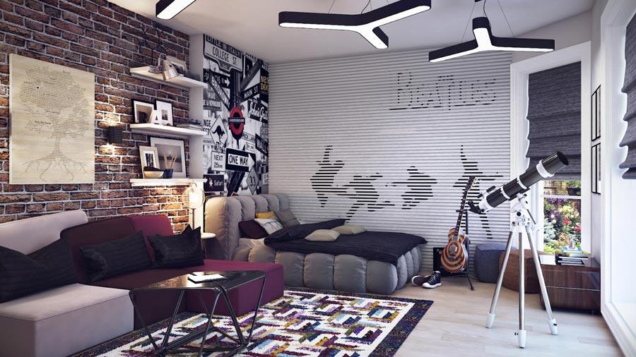 Какой должна быть мебель в комнате подростка?