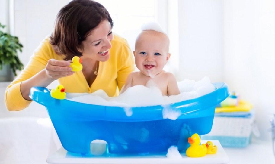 5 важных правил купания ребенка