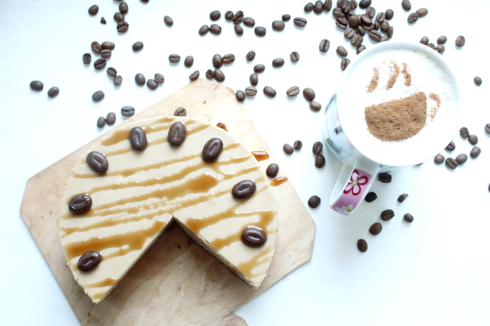 Как приготовить кофейный чизкейк