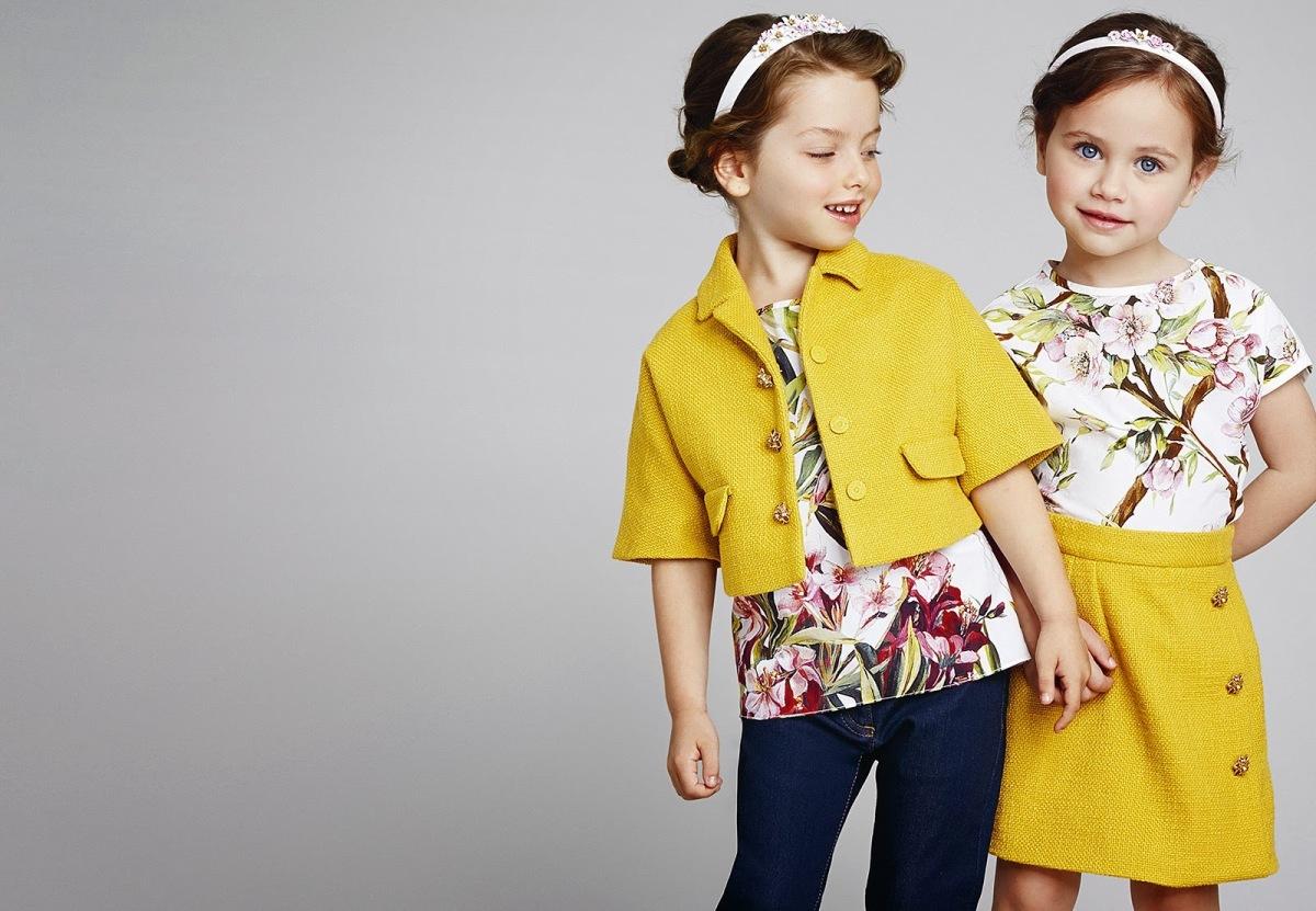 Цветовая гамма детской одежды
