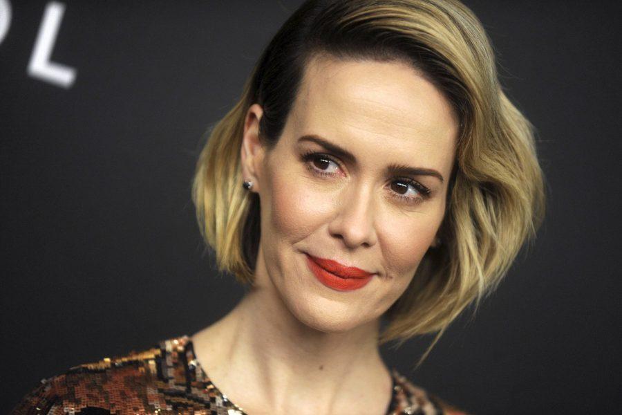 Сара Полсон впервые демонстрирует look от Calvin Klein