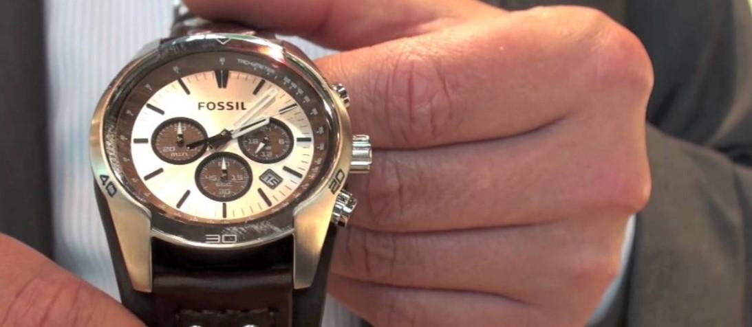 Новинки наручных часов Fossil
