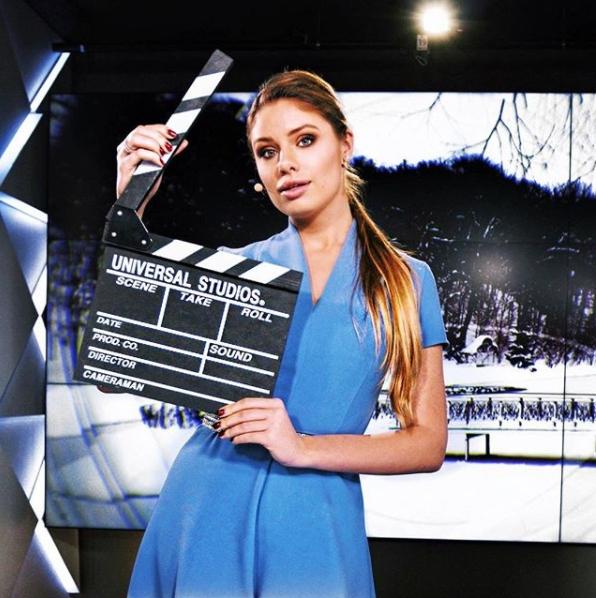 Татьяна Терехова посетила студию арабского канала