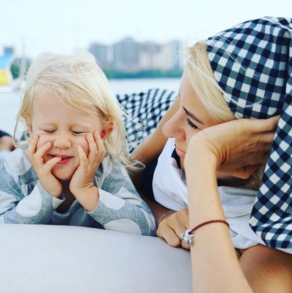 Ольга Горбачева с дочерью фото