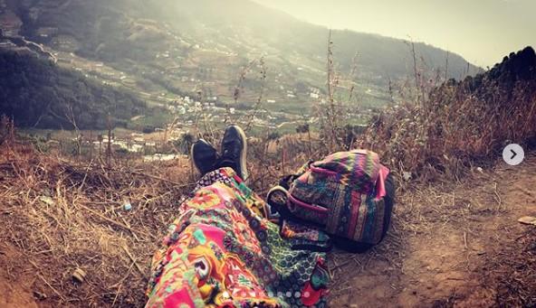 Наталья Могилевская в Непале фото