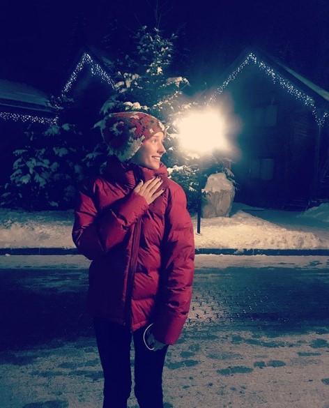 Катя Осадчая в Буковеле фото
