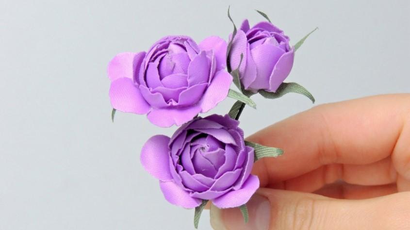 Изготовление искусственных цветов своими руками 799