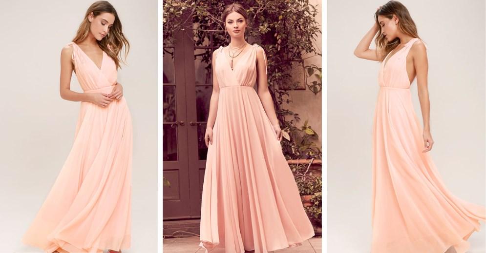 Шифоновые платья – красота и комфорт