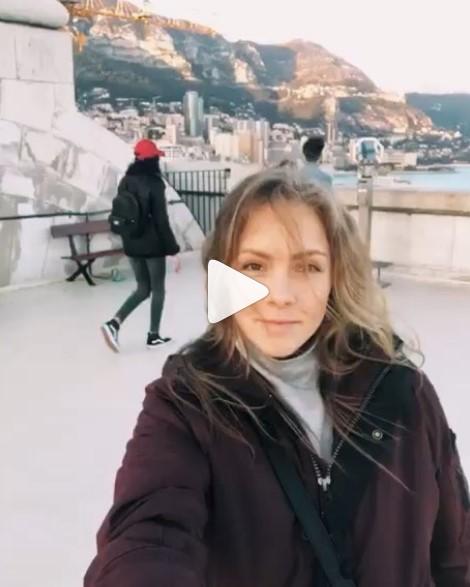 Алена Шоптенко в Монако фото