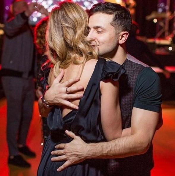 Владимир Зеленский с женой фото