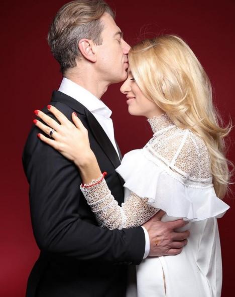 Ольга Горбачева с мужем фото