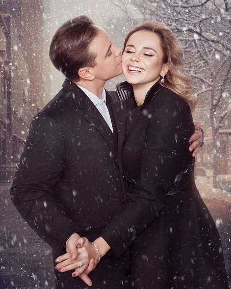 Лилия Ребрик с мужем фото