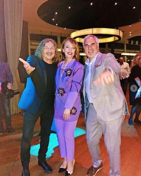 Альбина Джанабаева, Валерий Меладзе и Игорь Николаев фото