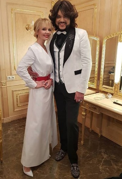 Валерия и Филипп Киркоров фото