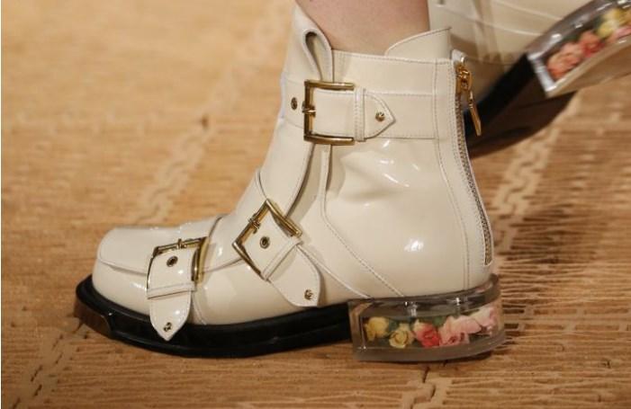 модные ботинки 2018