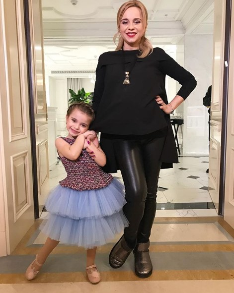 Лилия Ребрик с дочкой фото