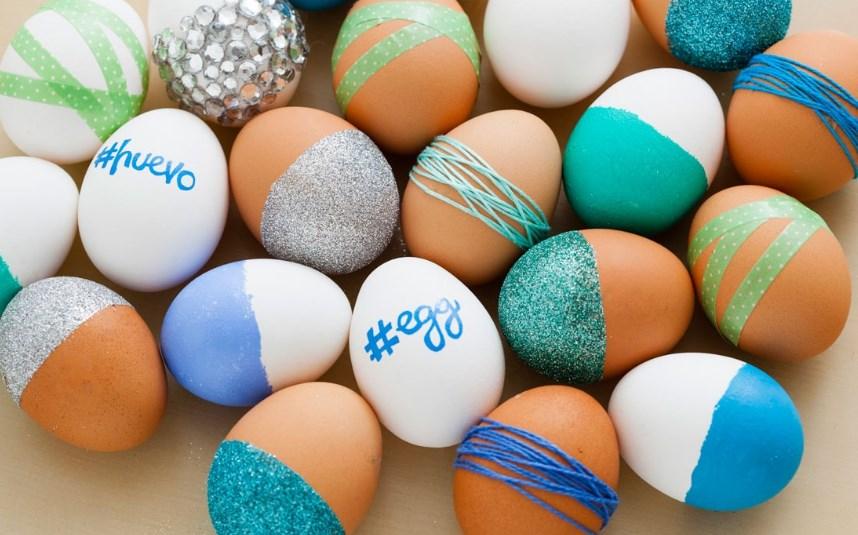 Пасха 2018: красим яйца  без химии