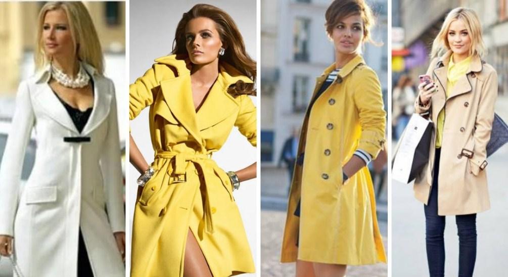Женские плащи: модные тенденции 2018