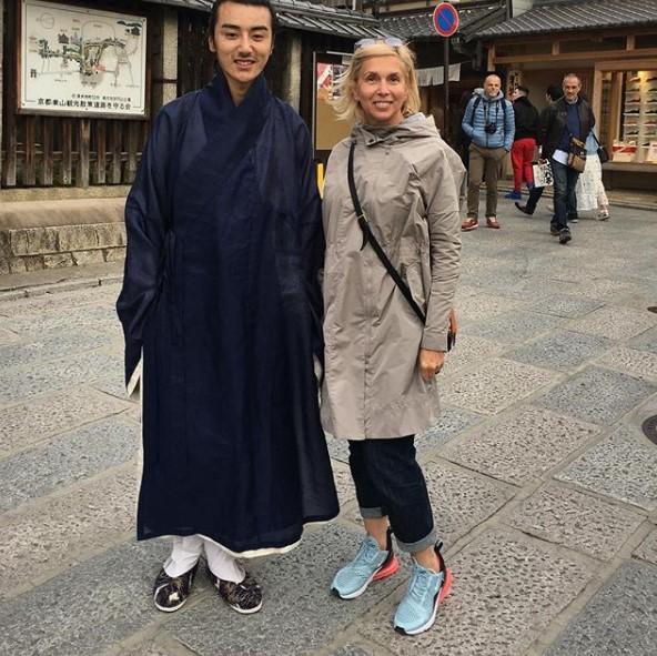 Алена Свиридова с самураем фото