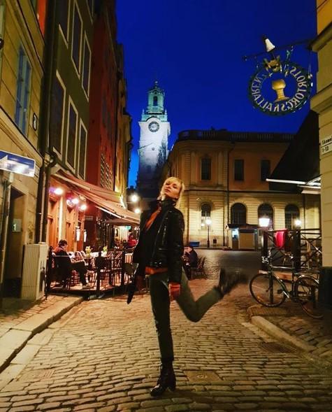 Полина Гагарина в Стокгольме фото