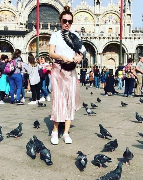 Наталья Подольская в Венеции фото