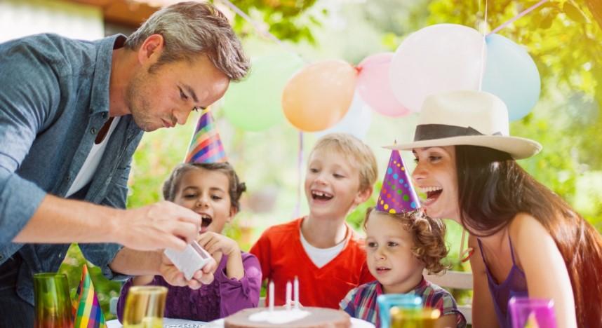 Как отметить день рождения ребенка на природе