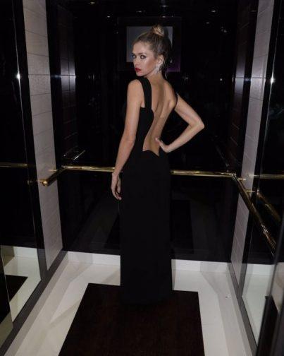 Вера Брежнева в платье от Versace фото