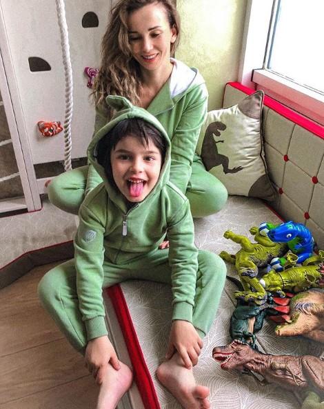 Анфиса Чехова с сыном фото