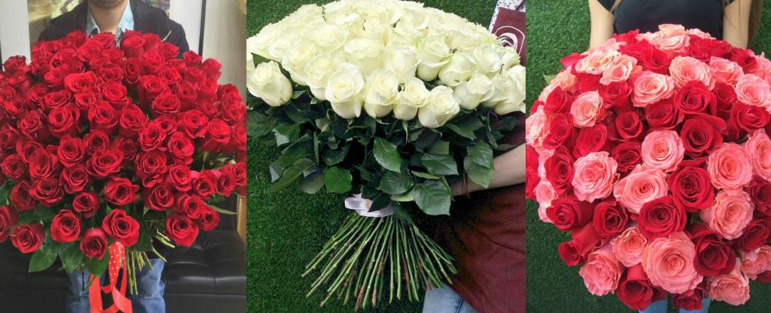 Что символизирует 101 роза, о чем вам расскажет букет из 101 розы