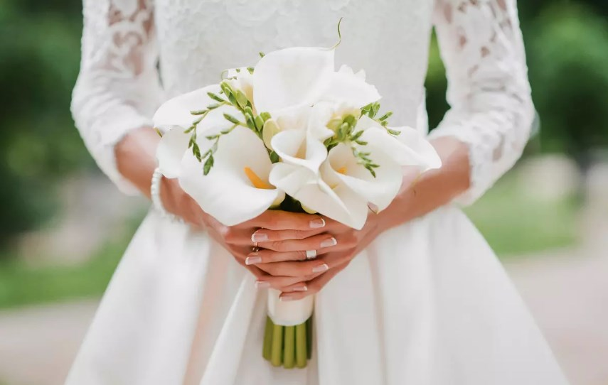 Тенденции свадебного маникюра 2018
