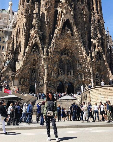 Санта Димопулос в Барселоне фото