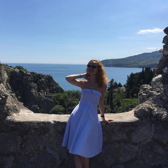 """Елена Захарова в """"Артеке"""" фото"""