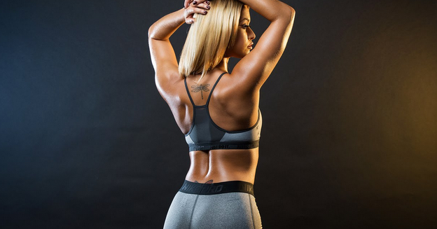 Тренируем спину с помощью гантелей в домашних условиях