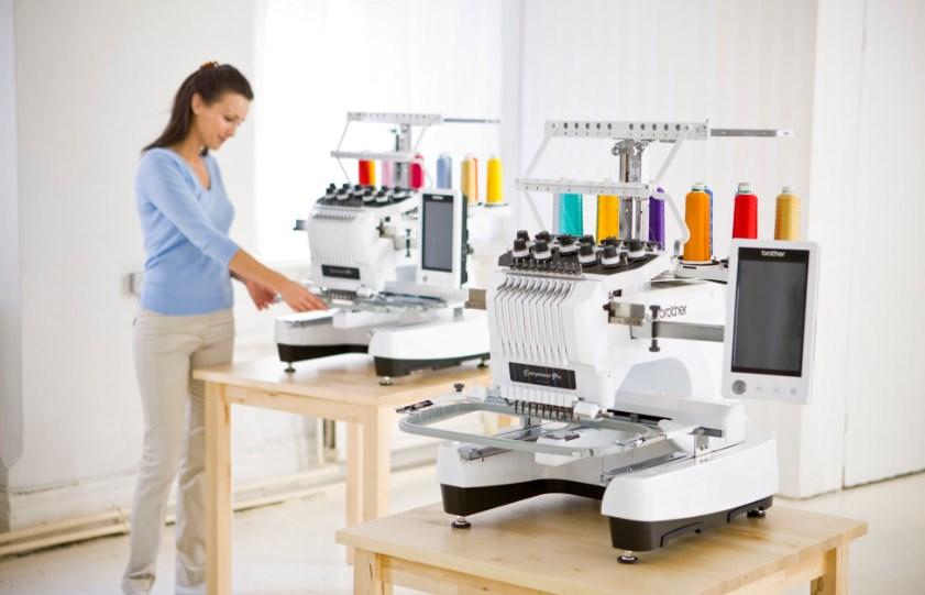 Выбор вышивальных машин